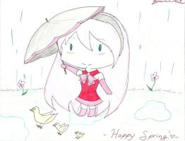 Happy Late Spring XD by smilinglightly