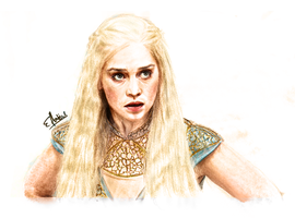 Daenerys Targaryen by Yellowtwist