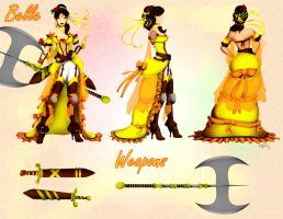 Disney Warrior Belle by andre4boys