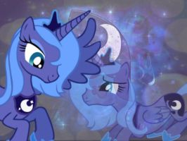 Princess Luna for VixenCharlie266 by DixieRarity
