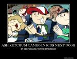 Pokemon cameo on KND Demotivational by lightyearpig