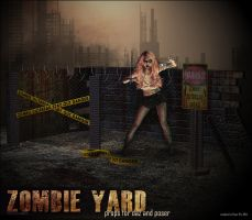 Zombie Yard Props by cosmosue