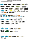 Ancerious light vehicles sheet by EmperorMyric