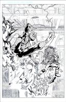 Spiderman sample page 1 wip by giberwitz