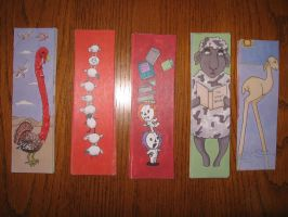 Bookmarks for sale by angelacapel