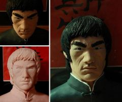 Bruce Lee project by sup3rs3d3d