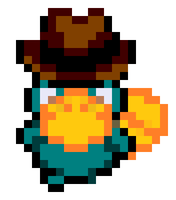Agent P Pixel by HyperForceGo