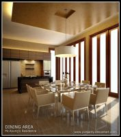 Dining Area by Yvesanty