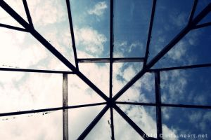 sky through the glass by BelialMadHatter