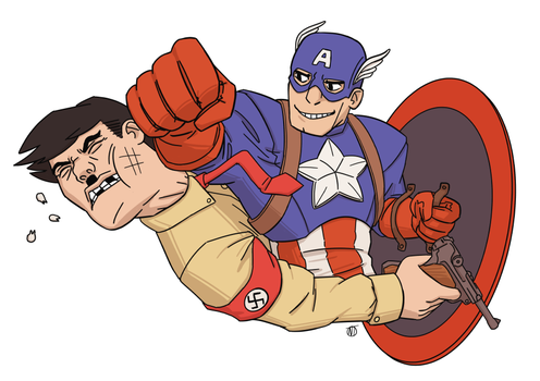 Captain America by Hierogriff