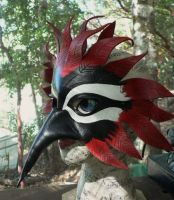 2011 Woodpecker mask by faerywhere