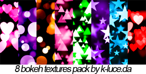 Bokeh Textures Pack by k-luce