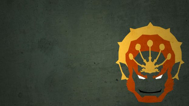Ganondorf Dragmire Minimalist Wallpaper by theKVD