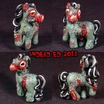 My Demon PoniesvLucy The Zombi by Undead-Art