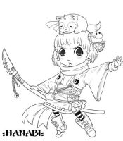 Chibi Example: Hanabi by conmandamned