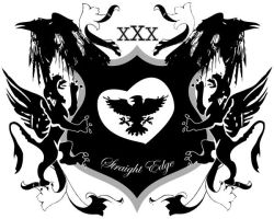 Straight edge coat of arms by moakmatulak