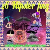 Png#1 Hipster by CatchingKisses
