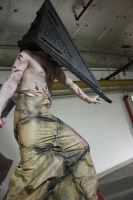 Pyramid Head Ohayocon by AshGroovy