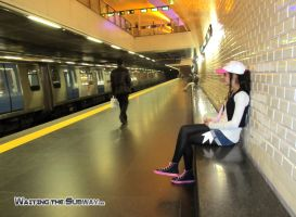 Waiting the Subway Masters by xSarahMagic