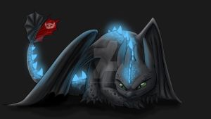 Toothless by SqueegyButt