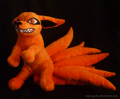 Nine-tailed fox plush 1 by goiku