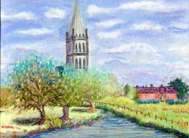 Salisbury Cathedral by kashmere1646