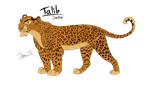Leopard of the Jungle by Demi-Dee96
