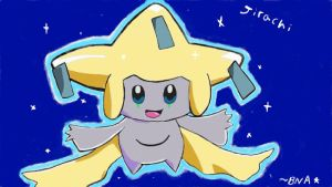 JIRACHI, the Wish Pokemon by BNAGalaxyWarrior