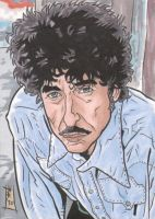 COMMISSION PSC - Bob Dylan by The-Real-NComics