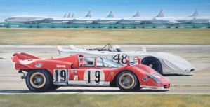 Sebring 1970 - Ferrari 512s and Porsche 908/02 by JamesWoodhead