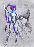 Warframe - NYX by thunderalchemist18