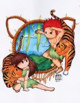 Chinese Zodiac: Tiger by DarkphoenixZX