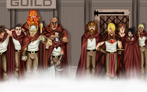 The Merchan'ts Guild by defineprog