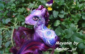 My little pony custom Mayanin by AmbarJulieta