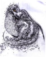 Smaug by cherryclaires