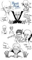 MegaMind sketchdump by Embbera