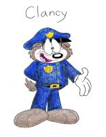 Clancy the Irish Cop by IrishBecky