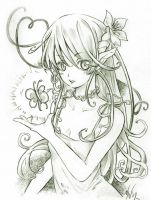Fairy - sketch by Ninamo-chan