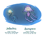Jelectric and Lampere by Bummerdude
