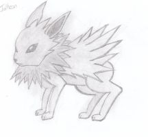 Jolteon by Cerderius