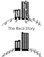 WIP The Real Story Book Cover by G2B