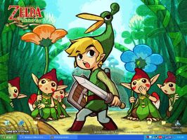Legend of Zelda Minish Cap by Lionwind