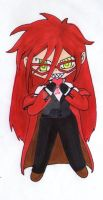 Grell Sutcliff chibi by Baka-customs