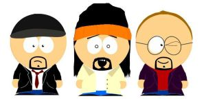 Doug Walker meets South Park by 187NotGuilty