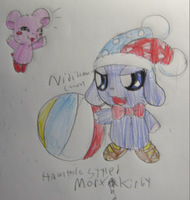 Marx and Kirby Hamtaro Style by Nijihamu-can