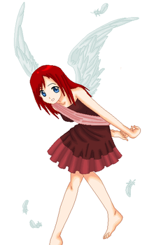.:RED ANGEL:. by RazziPixel