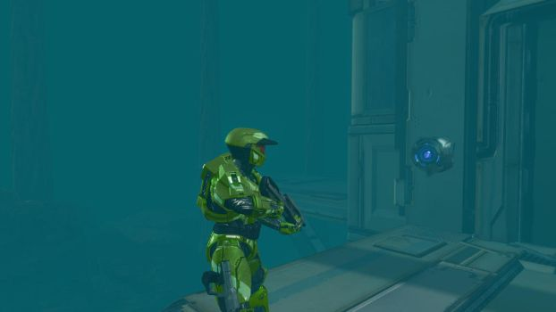 Halo 4 343 Guilty Spark CE Recreation Revised by lizking10152011