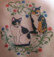 Tattoos by beagaink