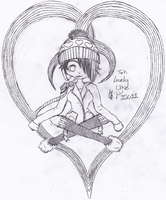 GC: Teh Lovely Uke sketch by NobodysWanderingSoul