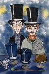 Holmes and Watson and Top Hats by elina-elsu